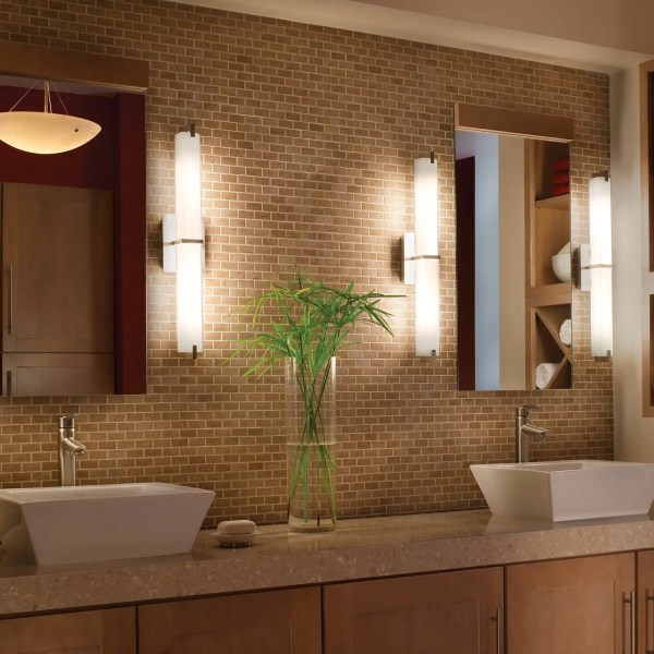 How to Light a Bathroom Vanity   YLighting Blog