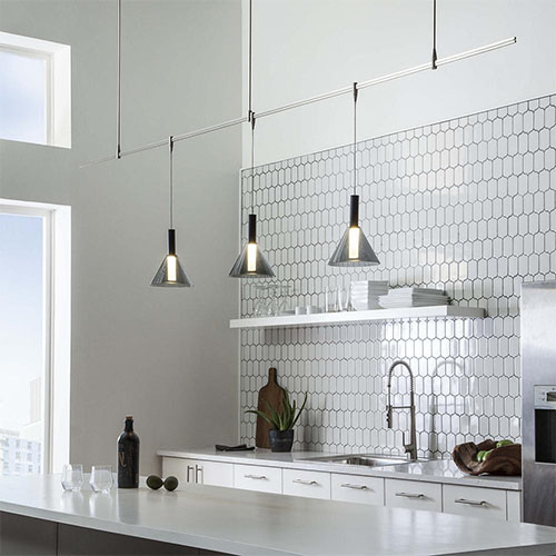 how to light a kitchen island design