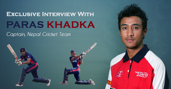 Paras Khadka-Captain, Nepalese Cricketer, Nepalese Youth Legend