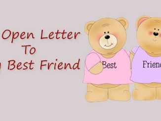 A Letter To My Best Friend