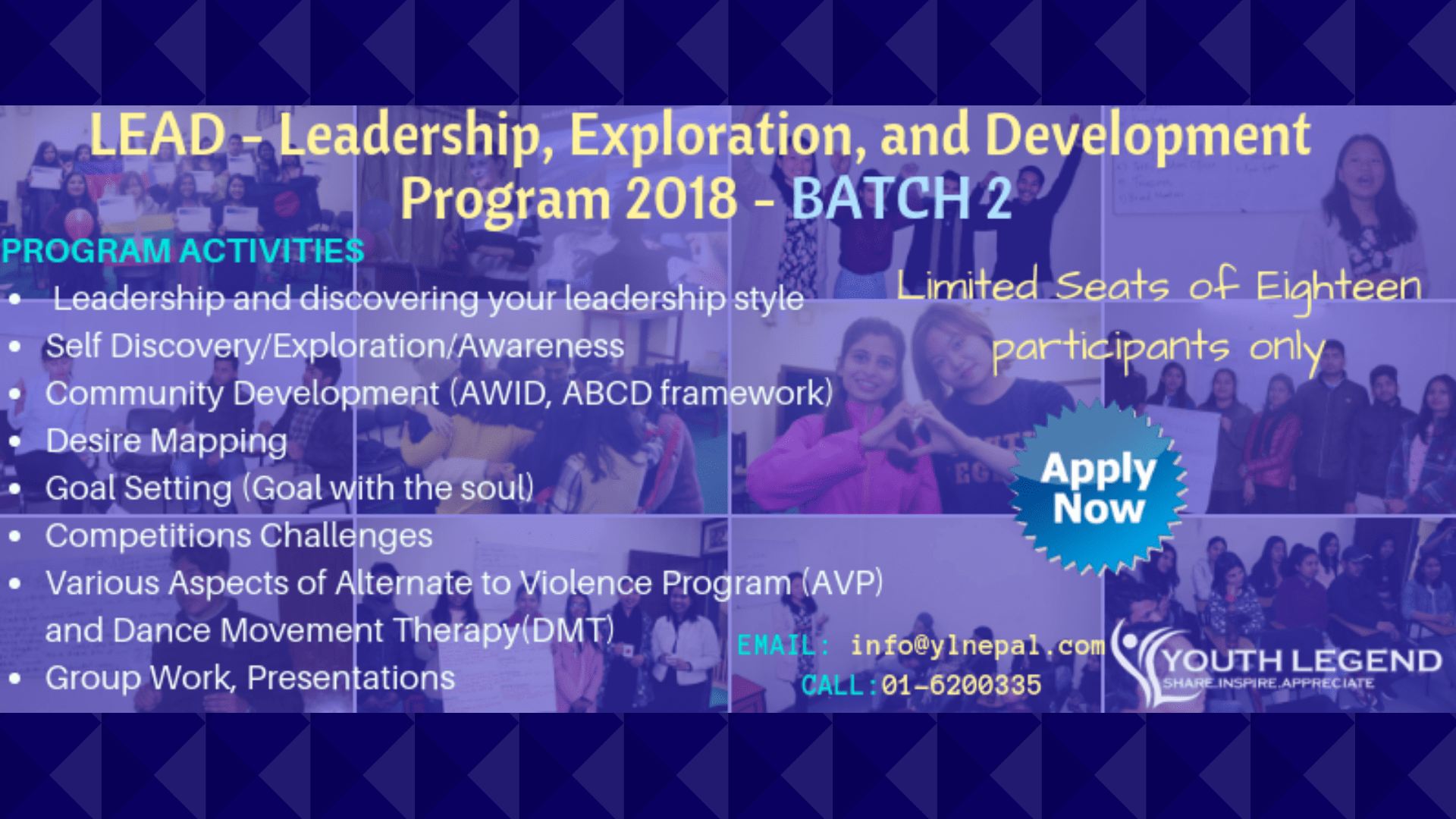 LEAD – Leadership, Exploration and Development Program – Batch 2