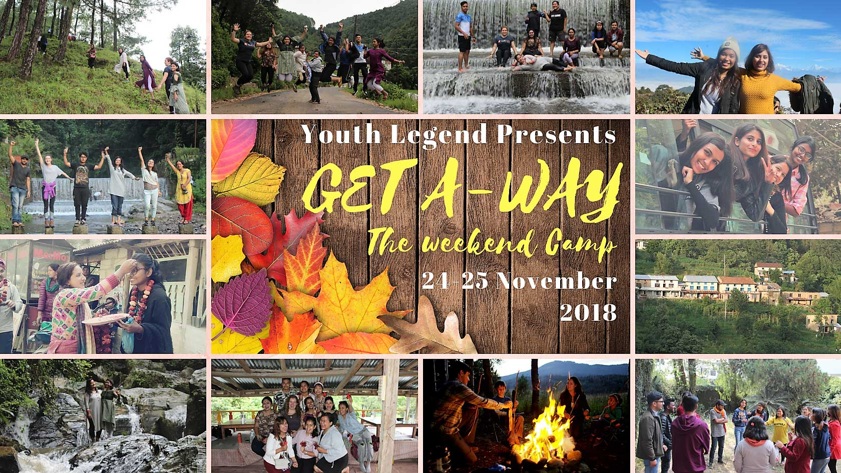 Get A-Way – The Weekend Camp 2018