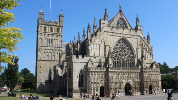 Exeter Cathedral YMCA event