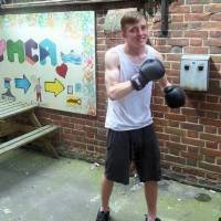YMCA kickboxing inspires Mark's hopes for future