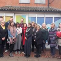 YMCA Norfolk communities team opens new office