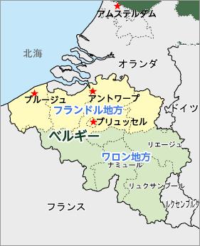アントワープ地図
