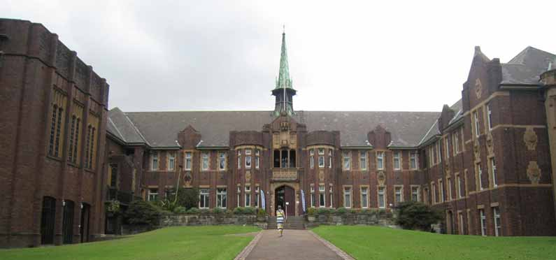 Wesley College at University of Sydney was home to Henny Jensen over Christmas and New Year 2013