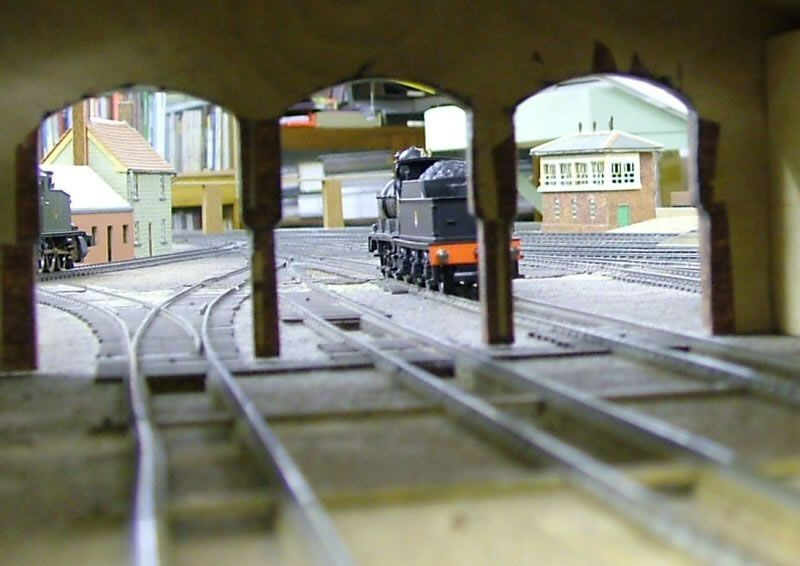 Through the Yeovil Town Engine Shed