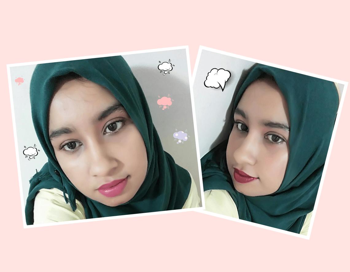 Hijab Girl Simple Fall Makeup look