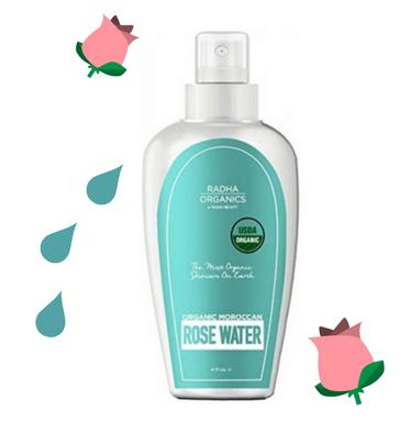 Radha Organic Rose Water