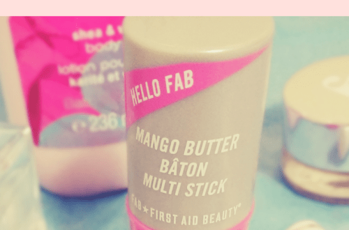 First Aid Beauty Hello FAB Mango Multi Stick review