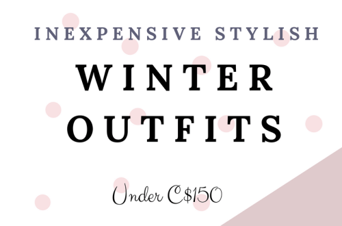 Inexpensive Stylish Winter outfits