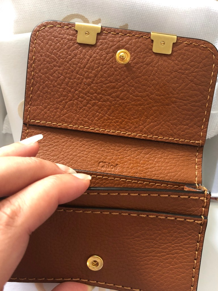 First Luxury piece - Chloé Marcie Wallet
