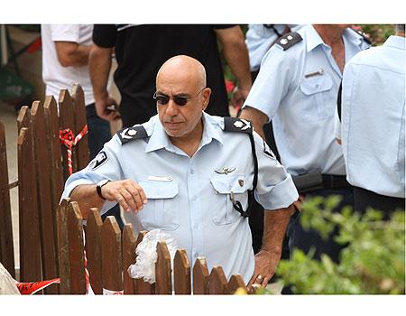 niso shaham Israeli police commander