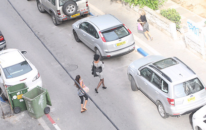 Running for cover in Tel Aviv