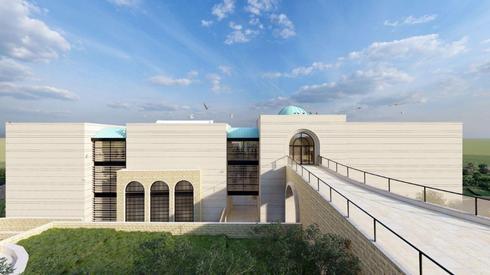 Simulación del Centro del Patrimonio Druso.