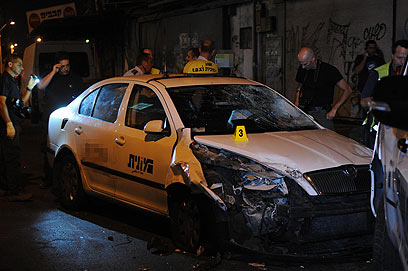 Stolen cab used in attack