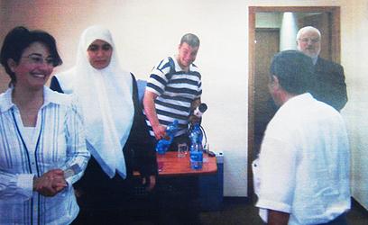 MK Hanin Zoabi meets with Hamas officials