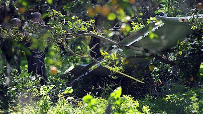israeli drone crash