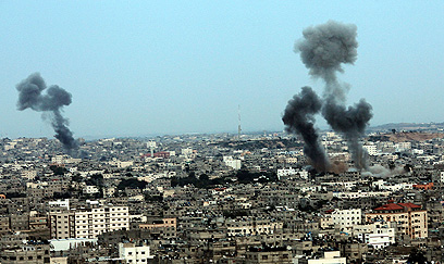 IAF strike in Gaza (Photo: EPA)