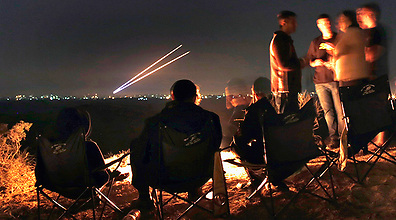 Iron Dome intercepts Gaza rockets