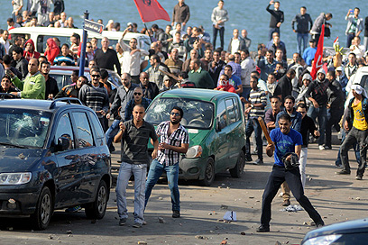 Protests in Cairo against Morsi
