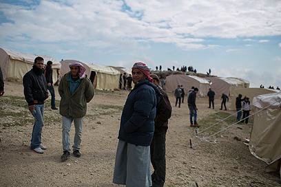מאחז באב אל-שאמס. המדינה מבקשת לפנותו  (צילום: אוהד צויגנברג)