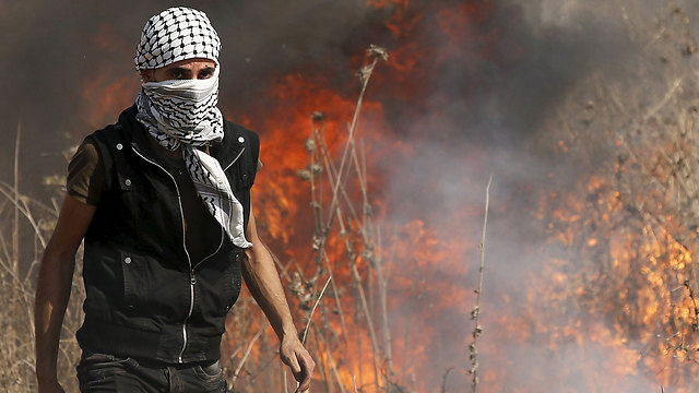 Image result for Palestinians rioting pictures