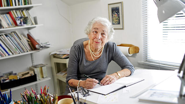 Judith Kerr Sits By Her Desk At Her Home In West London Britain September 30