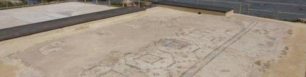 Древняя мозаика. Фото: Идо Эрез