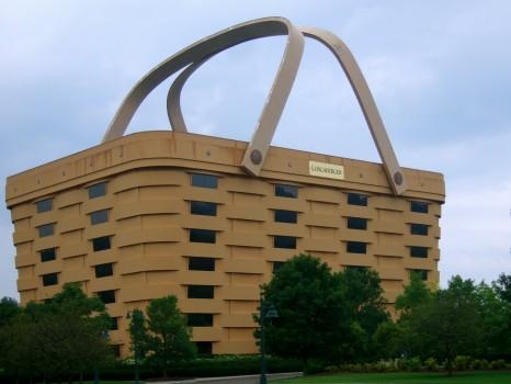 Basket Building - o prédio com forma de cesta - Os edifícios mais bizarros