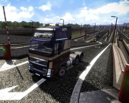 Euro Truck Simulator 2 - jogabilidade