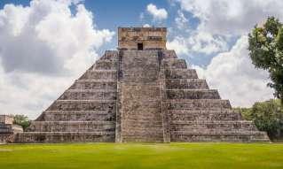 Historical Aztec-built Pyramid