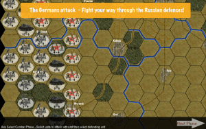 The German Assault starts