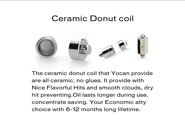 What's Yocan Evolve Plus  Ceramic Donut Coil?