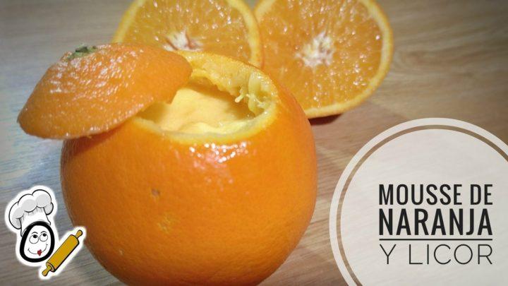 Mousse de naranja en Thermomix tm5