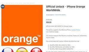 unlock orange gsm unlock server