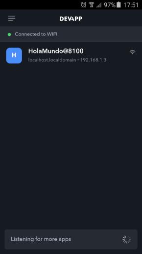 DevApp en Acción en Samsung Galaxy J5