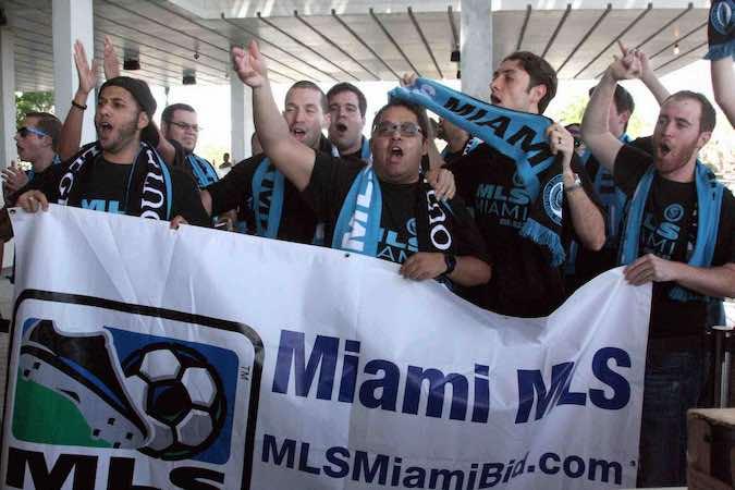 David Beckham-Miami-Porra