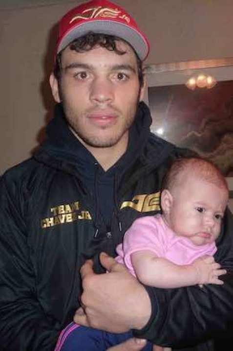 Julio César Chávez Jr.que su vida cambió con el nacimiento de su bebita Julia en diciembre pasado.