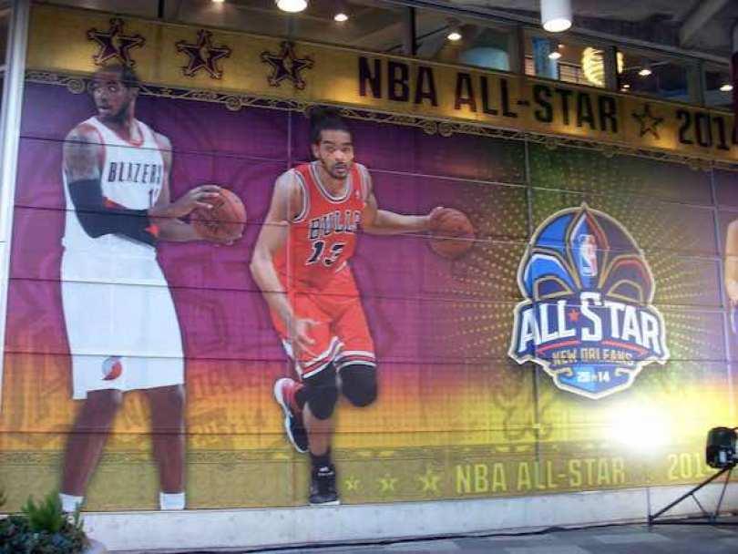 La última vez que un Juego de Estrellas se realizó en Nueva Orleans fue en 2008.