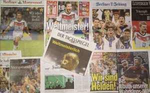Prensa alemana destaca a su selección. EFE