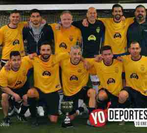 Juanacatlan campeones Master Futsal League