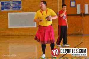 German Ortega arbitro con polleras