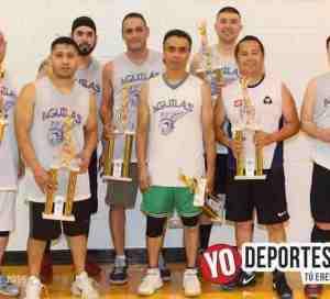 Las Águilas vuelan alto en la Liga Azteca de Basketball
