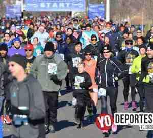 Poca participación en los primeros 5K del año en Chicago