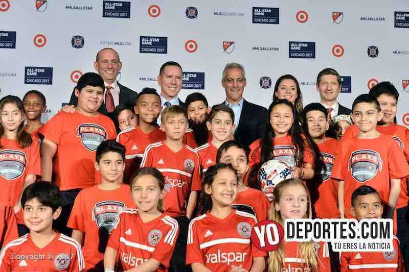 Rah Emanuel-MLS Juego de estrellas chicago-allstar game