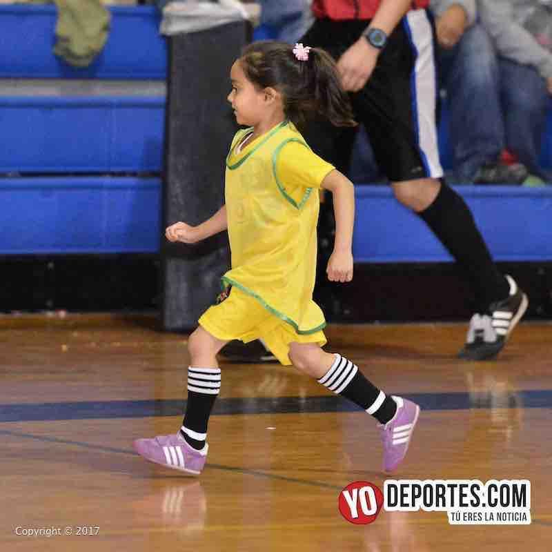 Scarlet Martinez-Liga Diablitos primer juego de futbol