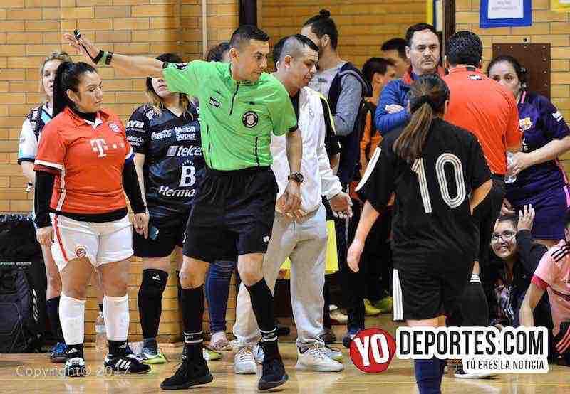 Arbitro Eswin Hernandez-Milan-Lady Azteca- Club Deportivo Checa