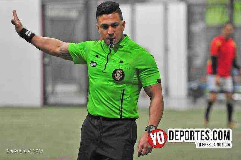 Arbitro Leo Zuniga-Santos San Luis-Deportivo Leon-Liga Latinoamericana